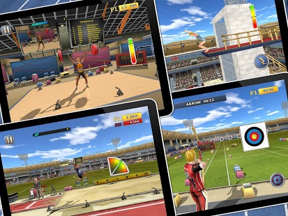 دانلود بازی دو و میدانی Athletics 2: Summer Sports v1.5 اندروید