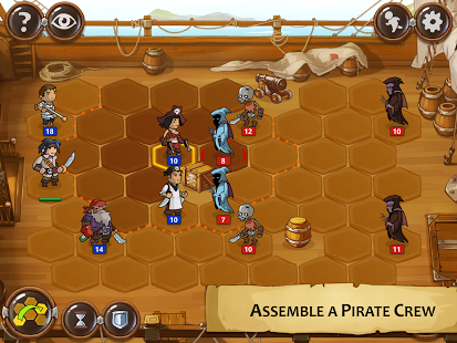 دانلود بازی جدید دزدان دریایی Braveland Pirate 1.0.1 اندروید
