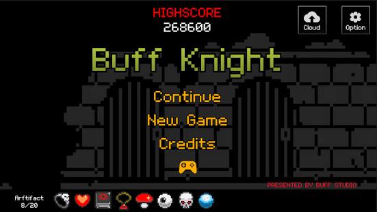 دانلود بازی شب Buff Knight – RPG Runner 1.67 اندروید