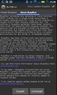 دانلود نرمافزار BusyBox v33 اندروید