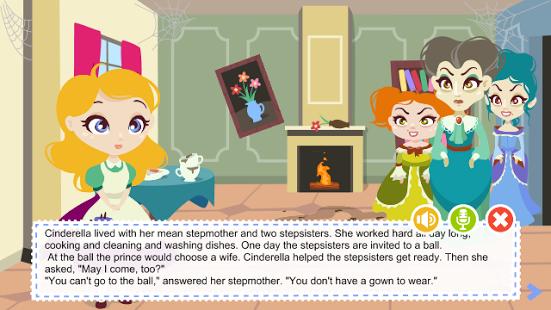 دانلود بازی سیندرلا Cinderella fairytale game 1.0 اندروید