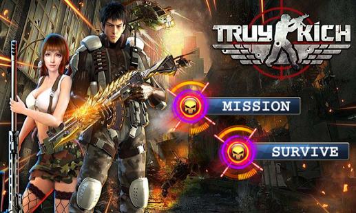 دانلود بازی دفاع از مردم Crossfire : Zombie Defender 1.0 اندروید مود شده