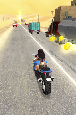 دانلود بازی مسابقه موتور در کویر Desert Moto Racing 1.01 اندروید