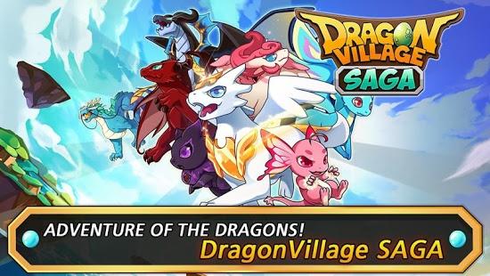 دانلود بازی روستا اژدها Dragon Village Saga 1.7.9 اندروید