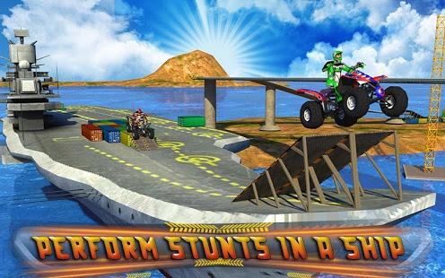 دانلود بازی چهار چرخه Extreme Quad Bike Stunts 2015 1.1 اندروید