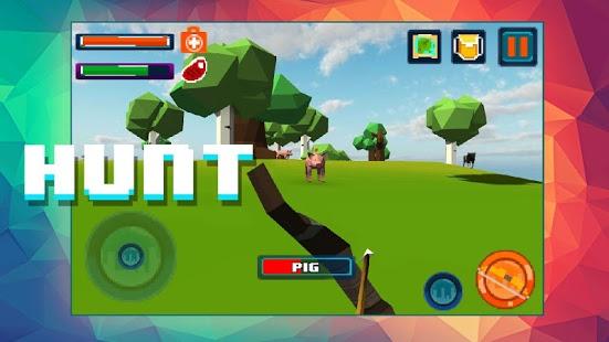 دانلود بازی بقا در جزیره Island Survival – Craft 3D 1.0 اندروید