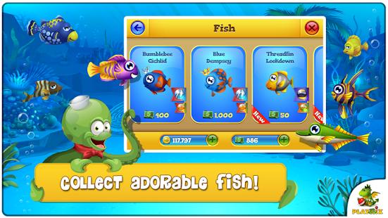 دانلود بازی فیشدوم Pocket Fishdom 1.0.8 اندروید