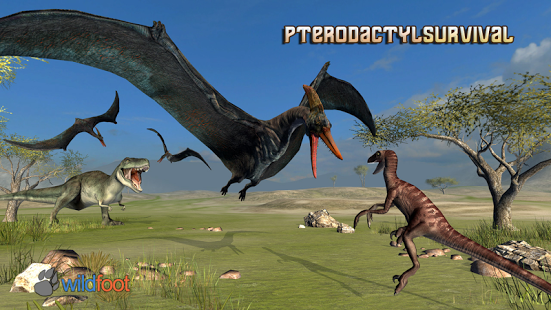 دانلود بازی سوسمارها Pterodactyl Survival Simulator 1.0 اندروید