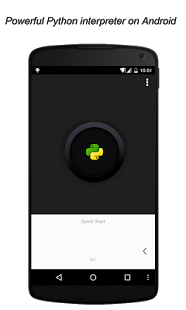 دانلود نرمافزار پایتون  QPython – Python for Android v1.2 اندروید
