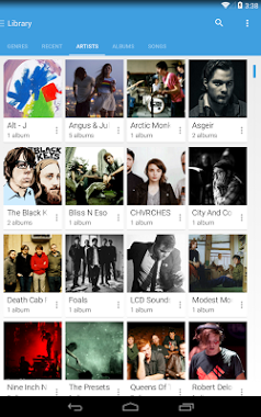 دانلود نرمافزار شاتل موزیک پلیر Shuttle+ Music Player v1.5.9 اندروید