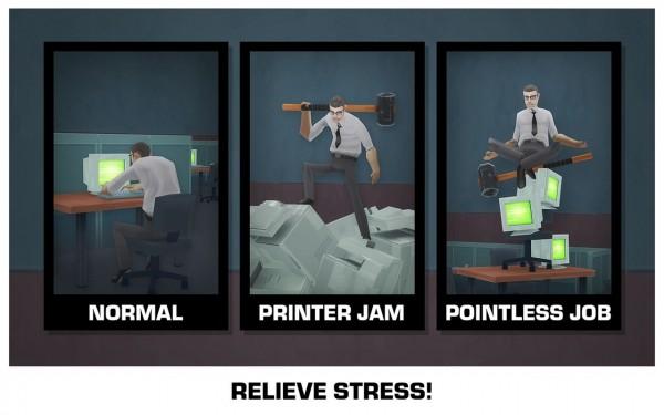 دانلود بازی استرس Smash the Office – Stress Fix 1.8.25 اندروید