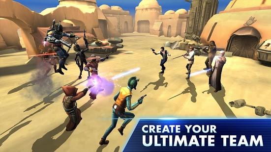 دانلود بازی کهکشان قهرمانان Star Wars: Galaxy of Heroes 0.2.11 اندروید