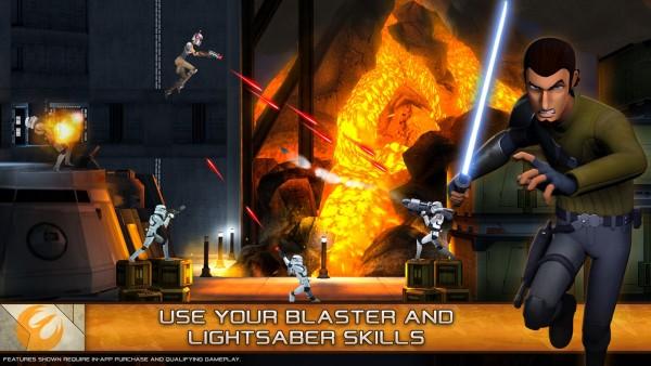 دانلود بازی جنگ و شورشیان ستارگان Star Wars Rebels: Missions 1.4.0 اندروید مود شده