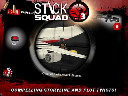 دانلود بازی تیراندازی مدرن Stick Squad 3 – Modern Shooter 1.1.6 اندروید