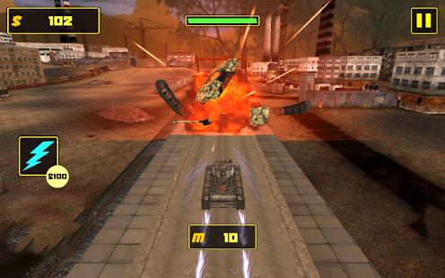 دانلود بازی مخزن جنگ Tank Fighter League 3D 1.0 اندروید