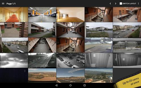 دانلود نرمافزار دوربین مدار بسته TinyCam Monitor PRO v6.2.6 اندروید