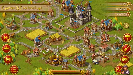 دانلود بازی شهر نشینان Townsmen Premium 1.6.4 اندروید