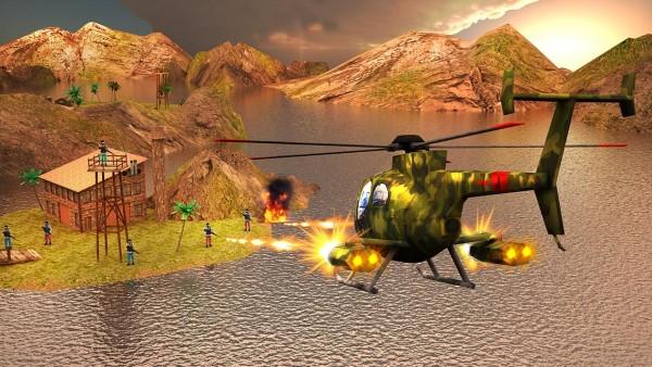 دانلود بازی جنگ جهانی هلیکوپترها World War Gunship Battle 3D 1.1 اندروید