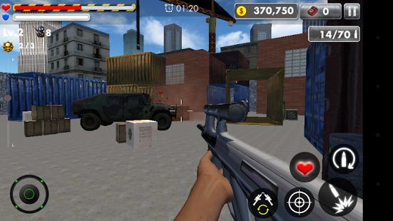 دانلود بازی جنگ مرزی ISIS Alpha Frontier 1.0.7 اندروید